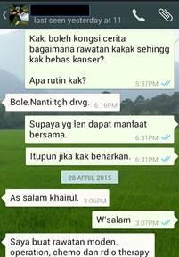 Testimoni Kak Wan 1_ubatkanser.my