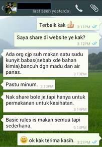 Testimoni Kak Wan 4_ubatkanser.my