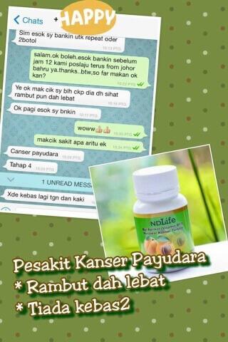 Penawar Kanser Payudara_tiada kebas kebas_ubatkanser.my