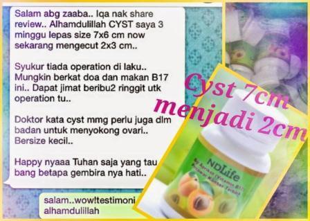 Penawar Cyst 1