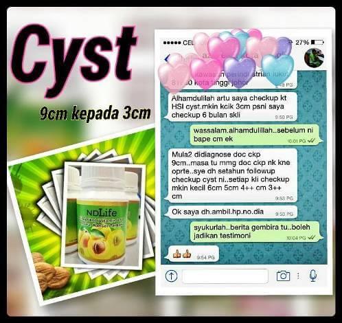 Penawar Cyst 8
